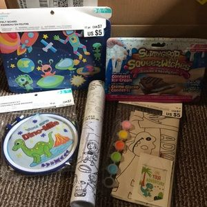 Mixed lot of kids activities great for snowy day
